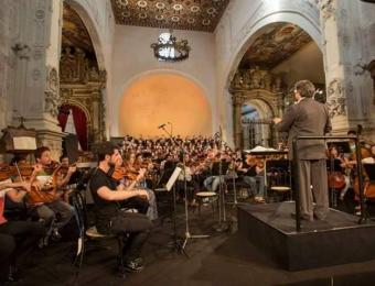 Con Riccardo Muti, Cattedrale, Otranto