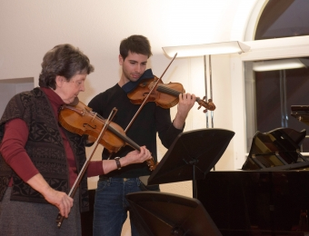 con Ana Chumachenco Schaffausen