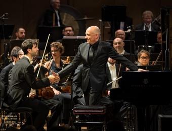 con Benedetto Lupo, Filarmonica del Teatro la Fenice, Venezia