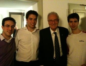 con Franco Petracchi Cremona